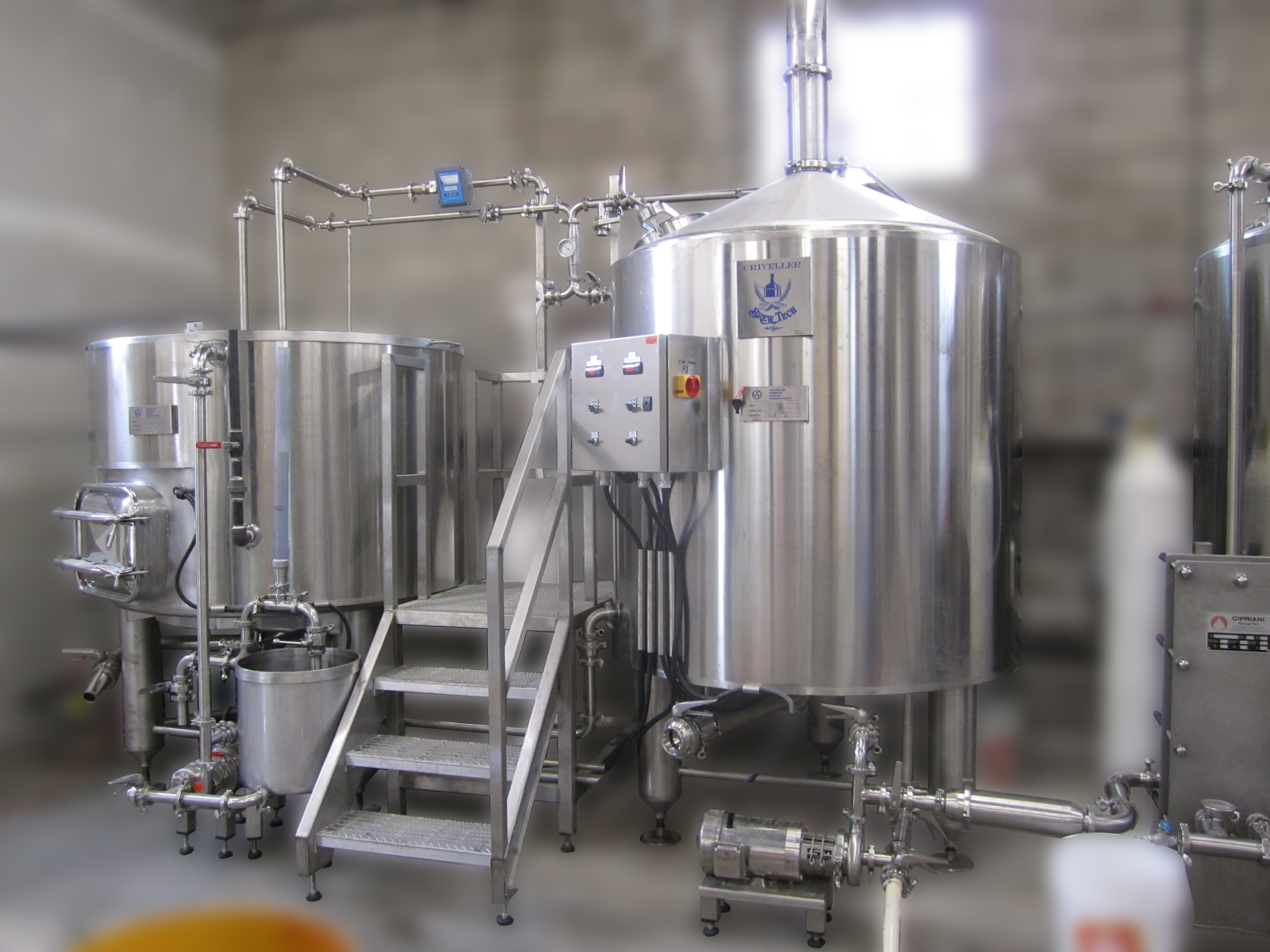 5 7 5 Bbl Systems Brew Kettle Criveller Group