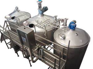 30 BBL 3-Vessel Brew House - Commercial Beer Brewing Equipment