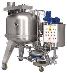 Beer Filtration Equipment - Horizontal DE Filter