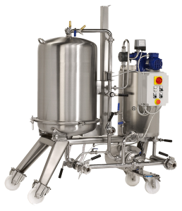 Beer Brewing Filters - Manual Discharge DE Filter H.D.F (Closed)