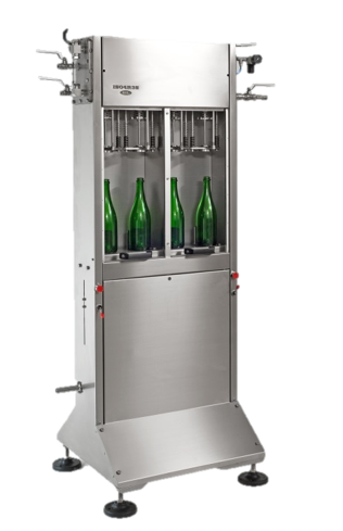 Equipment fillers Wine bottling