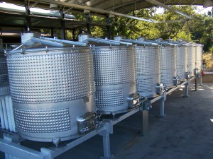 Lynmar Vineyard 008 - Wine Tank