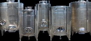 Stock Ghidi tank collage - Stainless Steel Wine Tank
