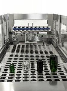 neck freezer inside - Sparkling Wine Production